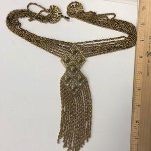 Chico's Bohemian multi layer necklace